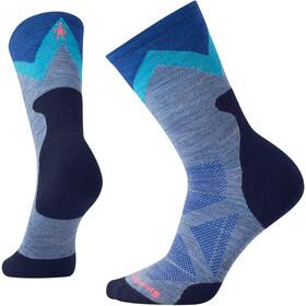 Smartwool PhD Pro Approach Light Elite Naiset sukat , harmaa/sininen